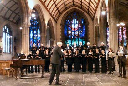 West Devon Chorale in St. Andrews Church, Plymouth